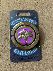 Tangled-Enchanted-Emblems-2020-Rapunzel-Flynn-Eugene-Spinner-LE-3000-Disney-Pin