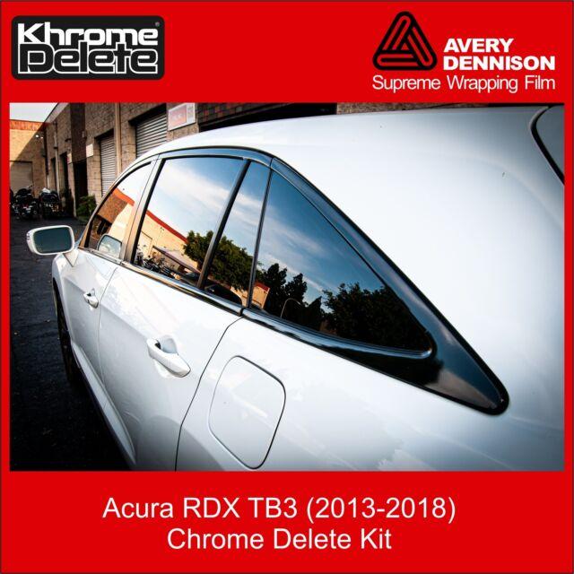 Chrome Delete Kit Fitting The 2013-2018 Acura RDX