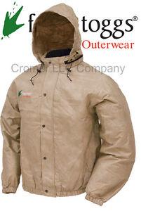 Frogg-Togg-Pro-Action-Rain-Jacket-Khaki-Mens-Medium