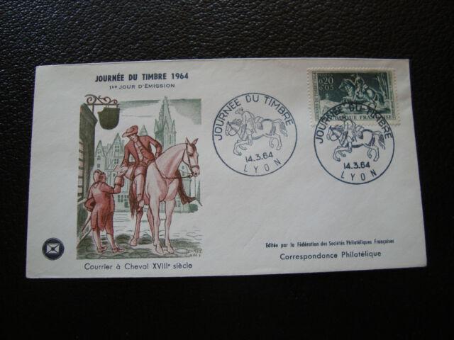 France - Envelope 1er Day 14/3/1964 (cy33) French