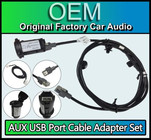 CITROEN C4 Picasso RD45 Aux Cable Adaptador De Puerto Usb Kit Radio Cable Aux Gratis *