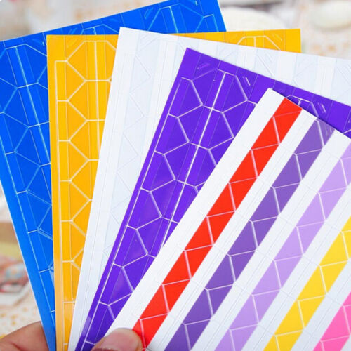 102//408 piezas de auto-adhesivo pegatinas de esquina foto álbum de recortes esencial Cp