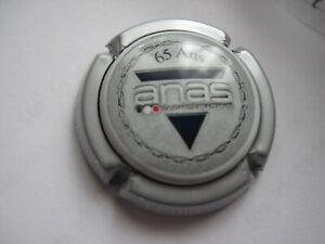 capsule de champagne pierre Mignon N° 65b    A N A S     65 ANS contour argent