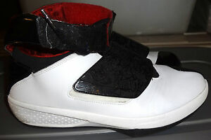 code promo 8c28d 66b60 Details about Air Jordan XX 20 Ray Allen sz 13 white and black with toe  scratch