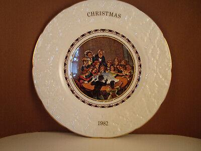Like New. Boxed 1982 Coalport Christmas plate