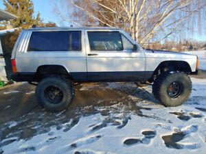 1988 jeep xj lifted 4x4