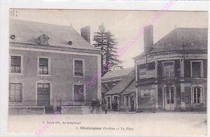 CPA-72340-CHAHAIGNES-La-place-publicite-BYRRH-Edt-REDON