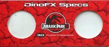 Jurassic Park III 3D DinoFX Specs [3D Viewing Glasses] DFX-1