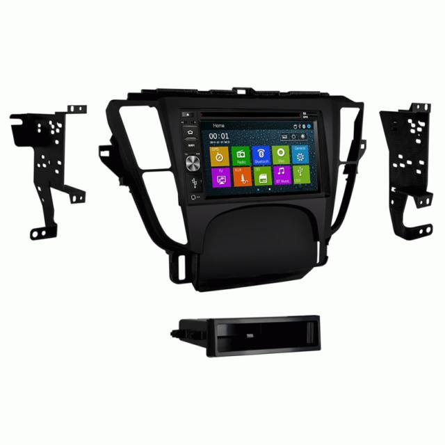 "6.2"" GPS DVD Multimedia Bluetooth Radio And Dash Kit For"