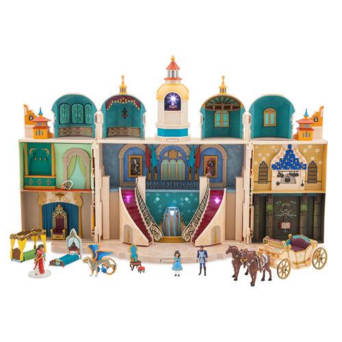Authentic Disney 16pc Elena of Avalor Castle Play Set w//FiguresLights Up /& Music