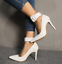 Womens-Pointed-Toe-Ankle-Strap-Party-Evening-Plus-Stiletto-High-Heel-Pump-Shoes thumbnail 4