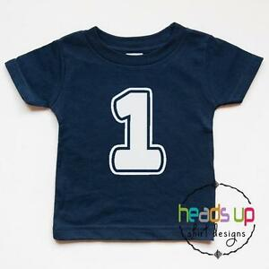 Image Is Loading 1st Birthday Shirt Bodysuit Boy Girl First Bday