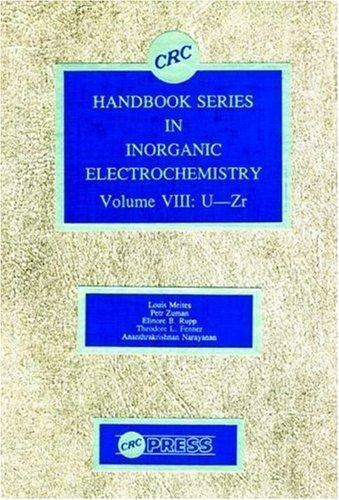 Handbook Series in Inorganic Electrochemistry by Meites, Louis