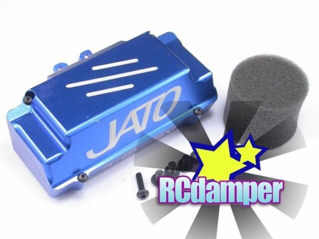 ALUMINUM REAR BATTERY BOX B TRAXXAS JATO 2.5 3.3 ALLOY FOR WHEELIE BAR 5584