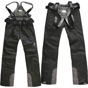 Men-039-s-Outdoor-Waterproof-Windproof-Ski-Snow-Pants-Overalls-Trousers-Salopettes