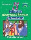5 Minute Sunday School Activities: Bible Adventures: Preschoolers by Mary J Davis (Paperback, 2005)
