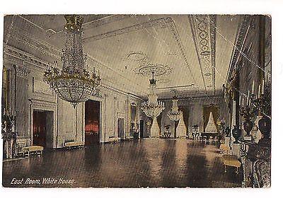 East Room State Parlor White House Washington DC Postcard Vintage 1914
