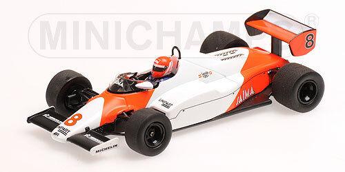 Minichamps 1 43 530 834308 Mc Laren MP4 1c F.1 Ford  8 2ème USA West GP 1983