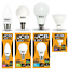 JCB-Household-LED-Lamp-Range-Candles-Golfballs-GLS-GU10-3000k-amp-6500k thumbnail 1