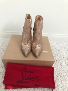 839dc1a75d9 Details about Brand New Christian Louboutin Gipsy Bootie
