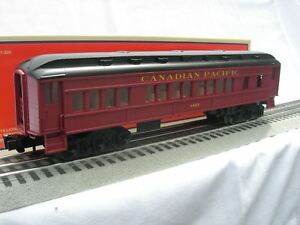 LIONEL-6-81746-Canadian-Pacific-BABY-MADISON-COACH-CAR-o-gauge-1468-passenger