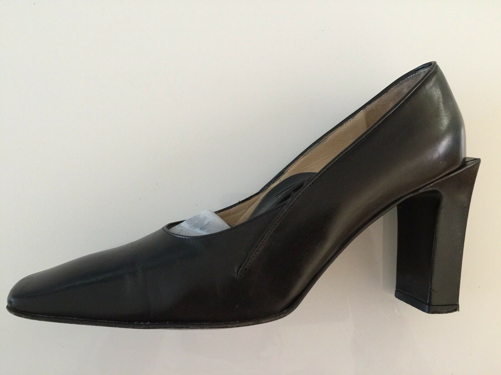Ladies Shoes Size 5.5 BALLY 100% Formal Leather 3.5