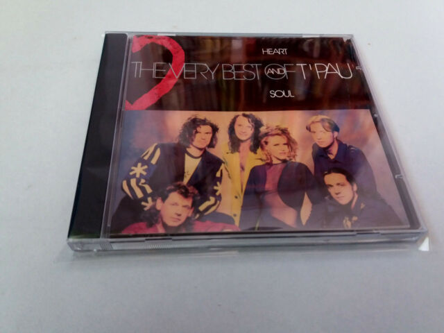 "T'PAU ""HEART AND SOUL THE VERY BEST OF T'PAU"" CD 12 TRACKS COMO NUEVO"