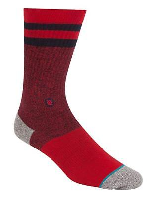Size Medium 6-8.5 Pleasure Point New Men/'s Stance Classic Crew Socks