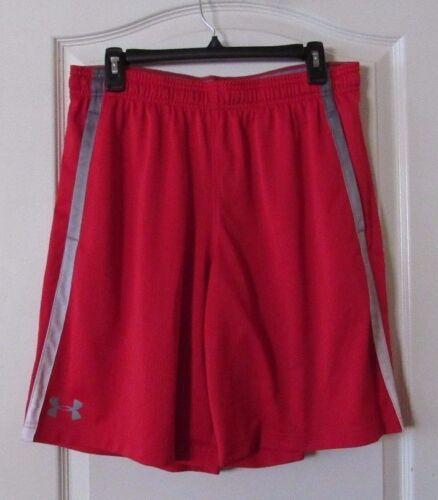 Under Armour Heat Gear Mesh Tech Active Shorts Red//Gray Men/'s Sz L-XXL NWT