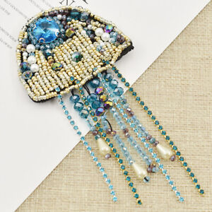 1pc-Jellyfish-Beaded-Patches-Sew-on-Applique-Sequin-Badge-Clothing-Sewing
