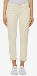 J Brand Sadey Mid-Rise Slim Straight Jeans Butter 30 NWT $265