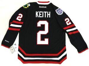 meet f6070 5779f Details about DUNCAN KEITH CHICAGO BLACKHAWKS NHL STADIUM SERIES REEBOK  PREMIER JERSEY