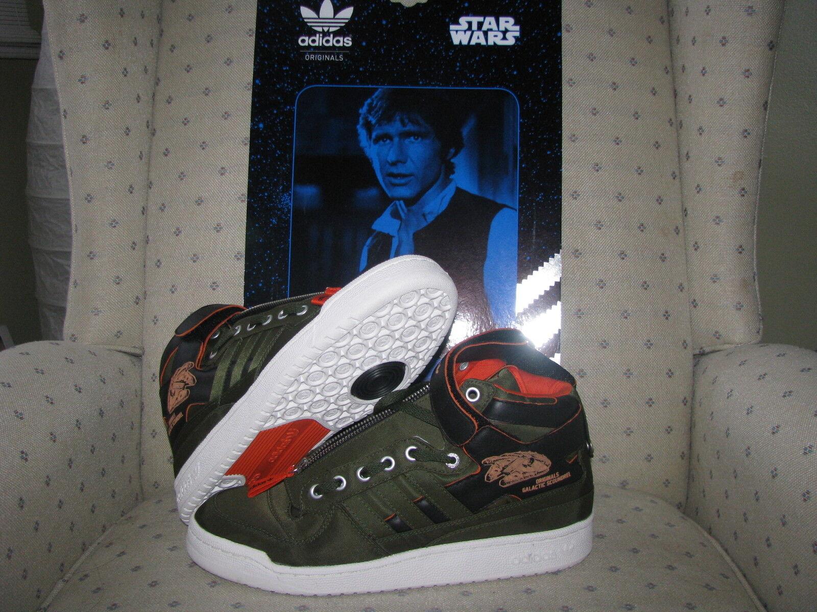 ADIDAS ORIGINALS STAR WARS Forum MID HAN SOLO shoes Skywalker Darth Vader Boba