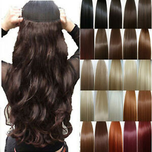 UK-Seller-Premium-Clip-In-Hair-Extensions-Full-Head-Weft-Top-human-preference