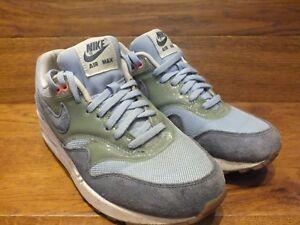 Nike-Air-Max-1-bleu-clair-gris-ardoise-Baskets-Decontractees-UK-5-EU-38-5