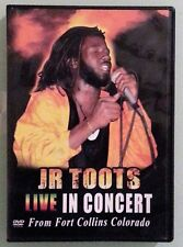JR TOOTS LIVE IN CONCERT from fort collins colorado   DVD