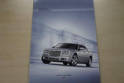 Bücher Chrysler 300 C Prospekt 08/2007 Zeitschriften 171442