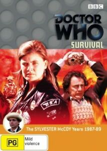 Doctor-Who-Survival-DVD-2007-NEW-SEALED-AUSTRALIAN-RELEASE-REGION-4