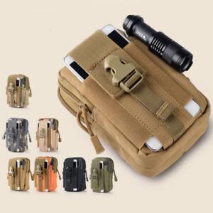 Cinturon-Tactico-Molle-Bolsa-Militar-Senderismo-Campamento-Fanny-cintura-Bolsas-telefono-de-bolsillo