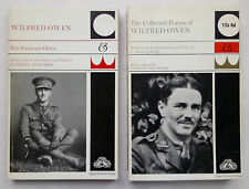 WILFRED OWEN COLLECTED POEMS,MEMOIRS.WAR POEMS.C D LEWIS.SB 1968-76 + NEWS CUTS.