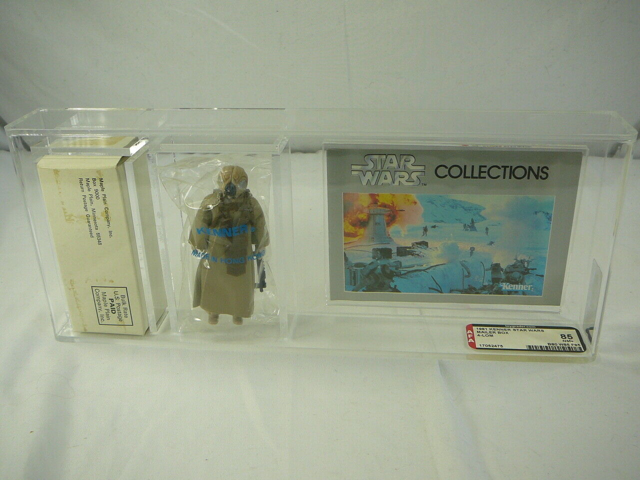 Kenner Star Wars 4-Lom Mail Offer Employee Owned Original AFA 85 Rare