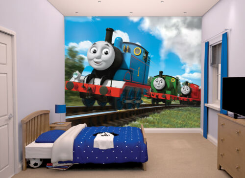Walltastic 12 Panels Thomas the Tank Engine Wallpaper Mural