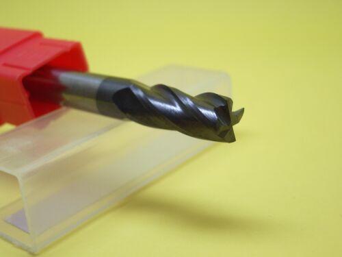 6MM Tungsten Carbide End Mill 4 Flute HRC50 50MM Length Flat Bottom 6MM Shank