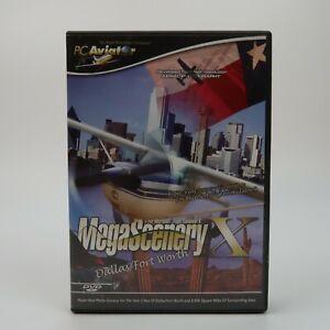 Details about MegaScenery X Dallas/Fort Worth Texas PC DVD Expansion Flight  Simulator X FSX