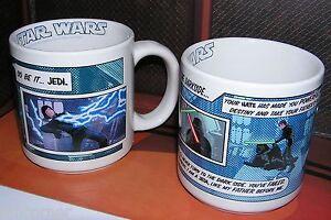 Star-Wars-Set-de-2-tasses-officielles-Dark-vador-star-wars-quotable-mug-lot