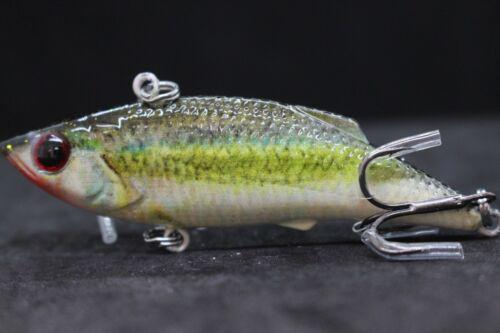 3 inch 1//3 oz Lipless Lifelike Pattern Fishing Lures For Bass Fishing HL536