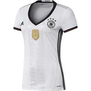 b27e5dbae adidas Germany UEFA Euro 2016 Womens Home Soccer Jersey Brand New ...