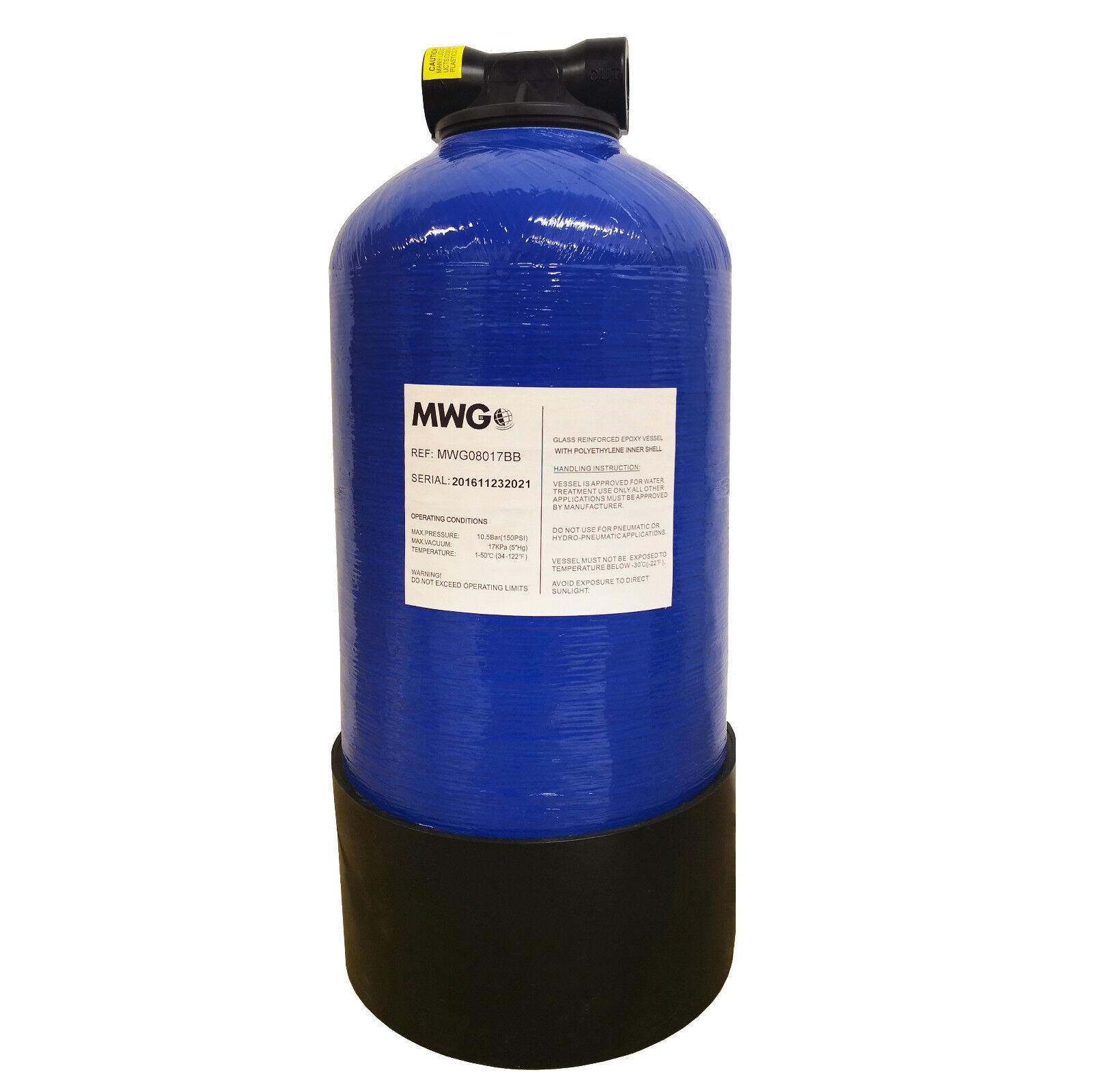 MWG 0817 - 8  x 17  DI Resina Recipiente a pressione con capacità 11 LITRI-VUOTO