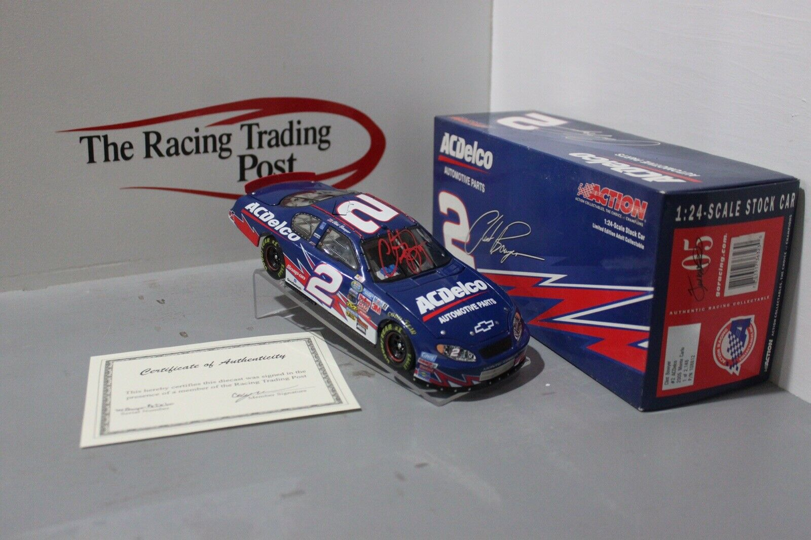 2005 Clint Bowyer  2 ACDelco 1 24 Diecast Cargraphed In rot Paint Pen
