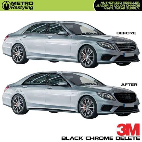 3M 1080 BLACK Vinyl for Chrome Delete Car Vehicle Decal Roll Sticker Wrap